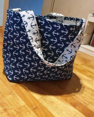 Torba Blue Beach Bag