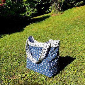 Torba Blue Beach Bag no2