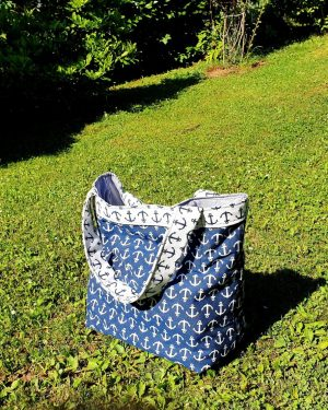 Torba Blue Beach Bag no2