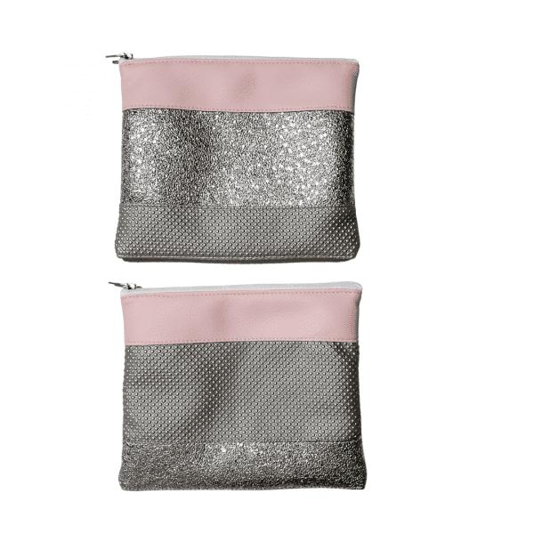 toaletka denarnica etui roza