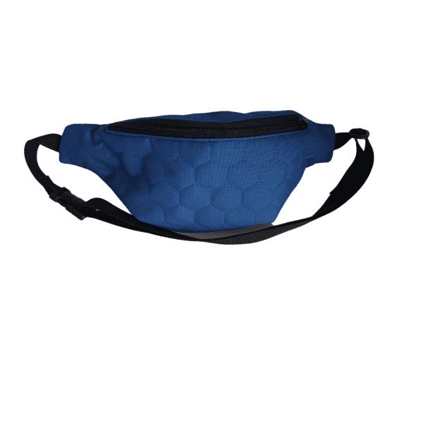 Torba okoli pasu modra vodoodporni poliester