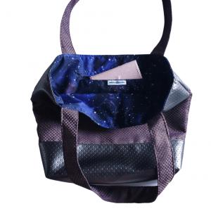 torba za na plažo vijola